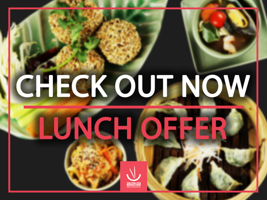 CHECK OUT OUR LUNCH OFFER!