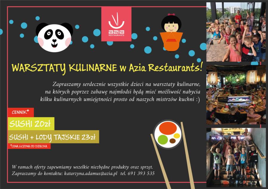 Oferta warsztatów kulinarnych dla dzieci