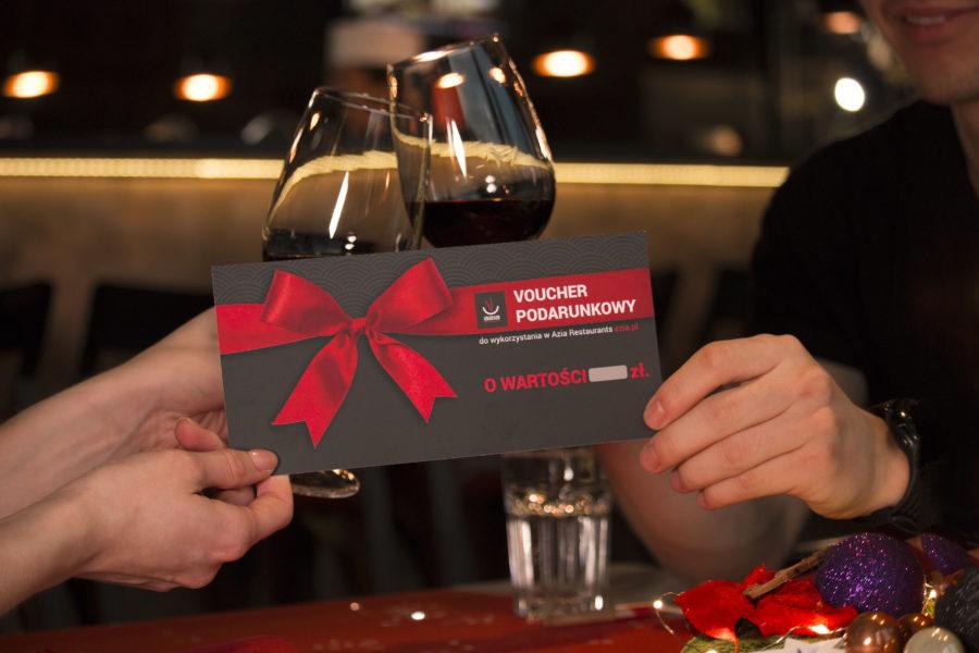 Najlepszy prezent na Święta – voucher od Azia Restaurants!