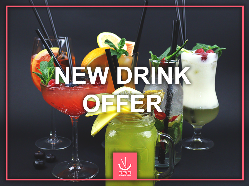 NEW DRINK OFFER