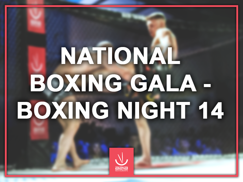 National Boxing Gala – Boxing Night 14