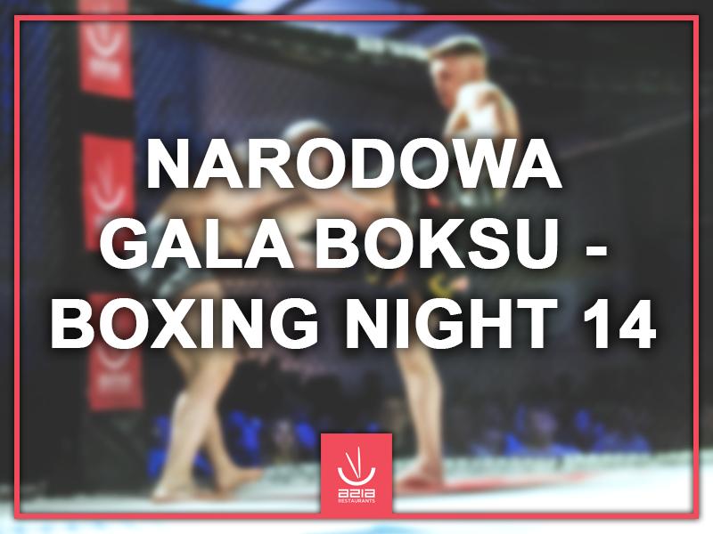 Narodowa Gala Boksu – Boxing Night 14