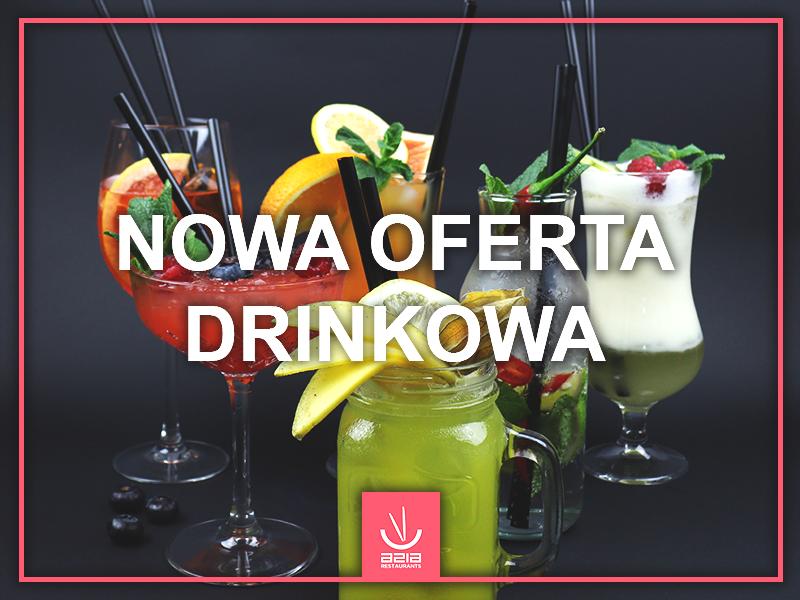 NOWA OFERTA DRINKOWA